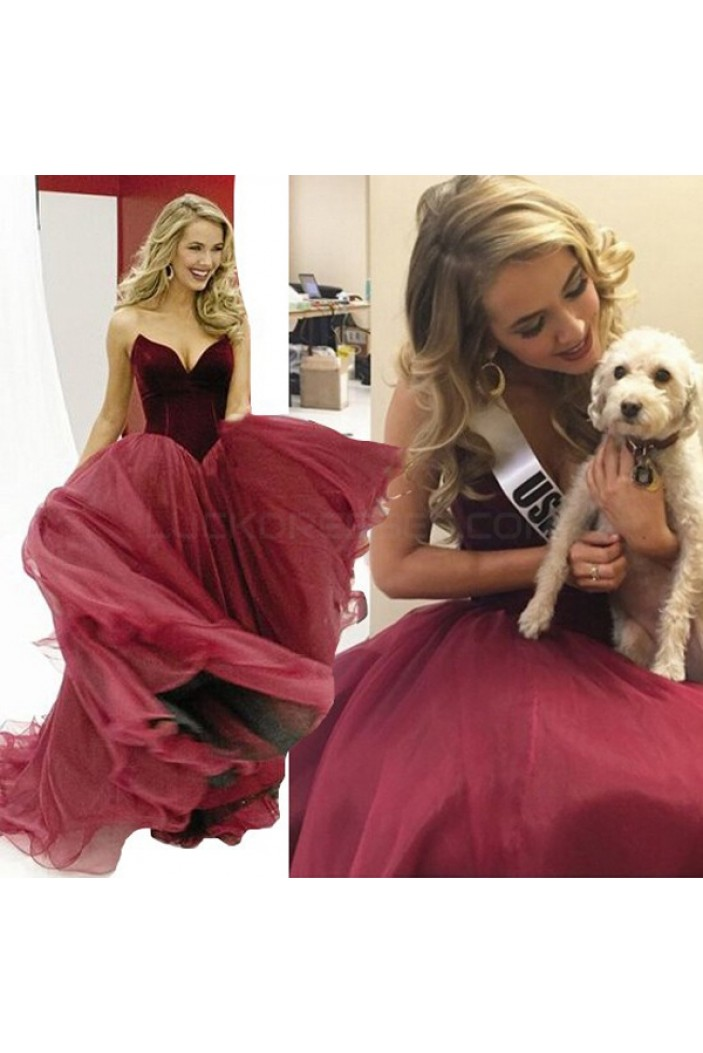 Ball Gown Sweetheart Long Prom Formal Evening Party Dresses 3021359