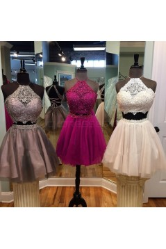 Short Lace Two Pieces Prom Homecoming Cocktail Graduation Dresses 3021382