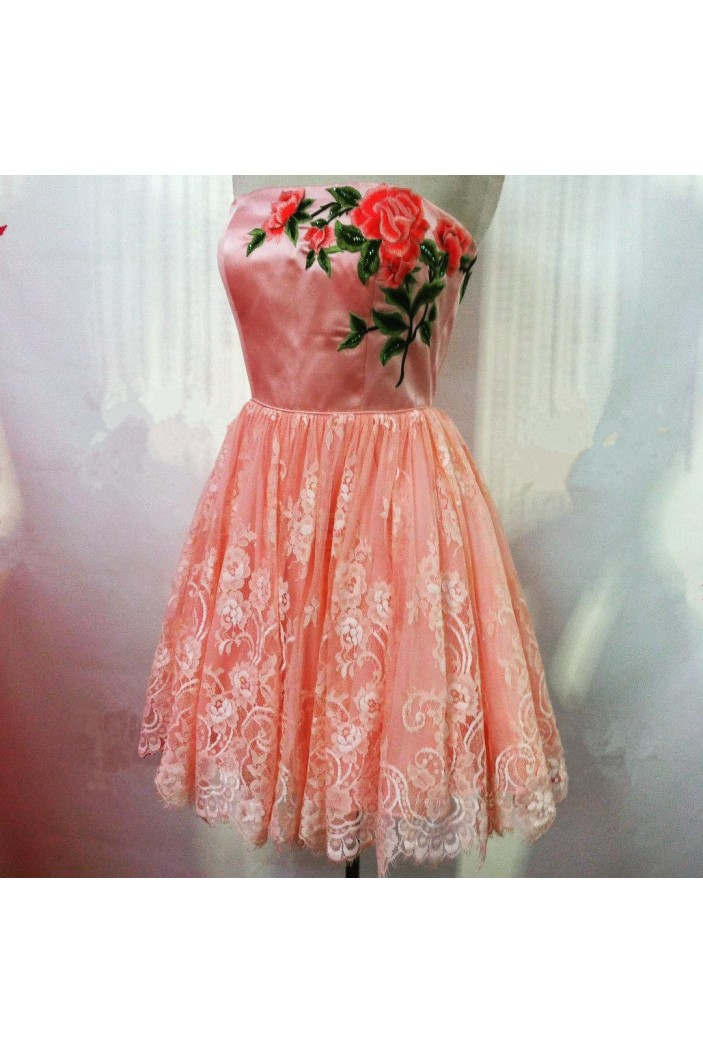 Short Lace Homecoming Cocktail Graduation Prom 3021432
