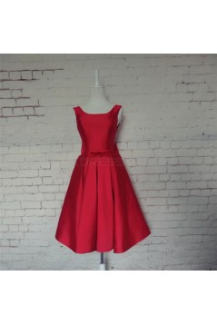 Short Red Prom Homecoming Cocktail Graduation Dresses 3021436