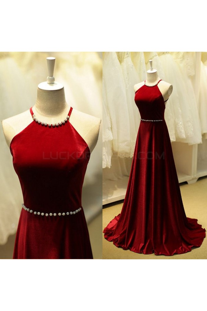 A-Line Long Prom Formal Evening Party Dresses 3021456