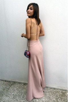 Long Spaghetti Straps Prom Formal Evening Party Dresses 3021460