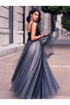 A-Line V-Neck Long Prom Formal Evening Party Dresses 3021476