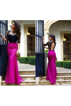 Mermaid Lace Long Prom Formal Evening Party Dresses 3021519