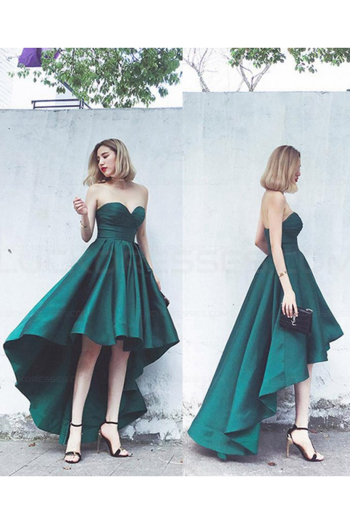 High Low Sweetheart Short Homecoming Prom Evening Party Dresses 3021563