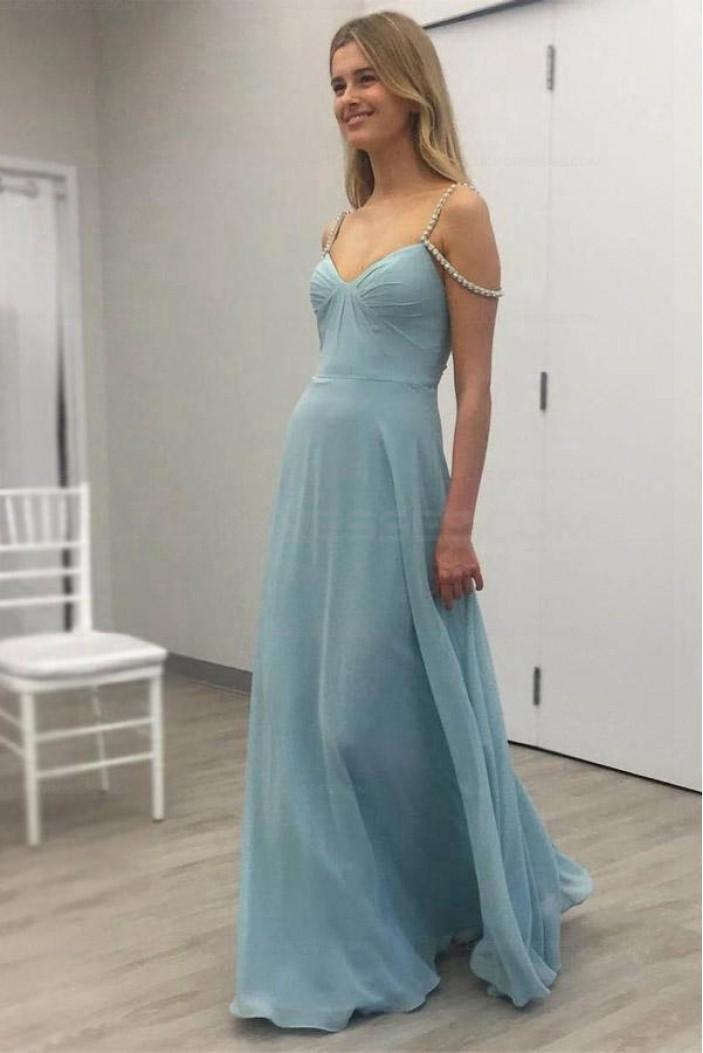 A-Line Long Chiffon Prom Evening Formal Dresses 3021571