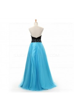 Beaded Sweetheart Long Prom Dresses Evening Gowns 3020227