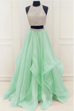 Elegant Two Pieces Prom Dresses Party Evening Gowns 3020245