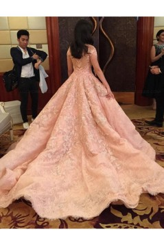 Ball Gown Lace Long Prom Dresses Party Evening Gowns 3020325