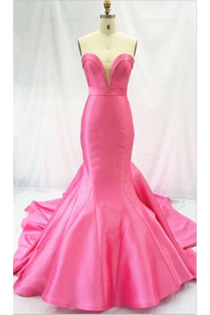 Mermaid Sweetheart Long Prom Dresses Party Evening Gowns 3020386