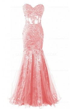 Mermaid Sweetheart Lace Prom Dresses Party Evening Gowns 3020395