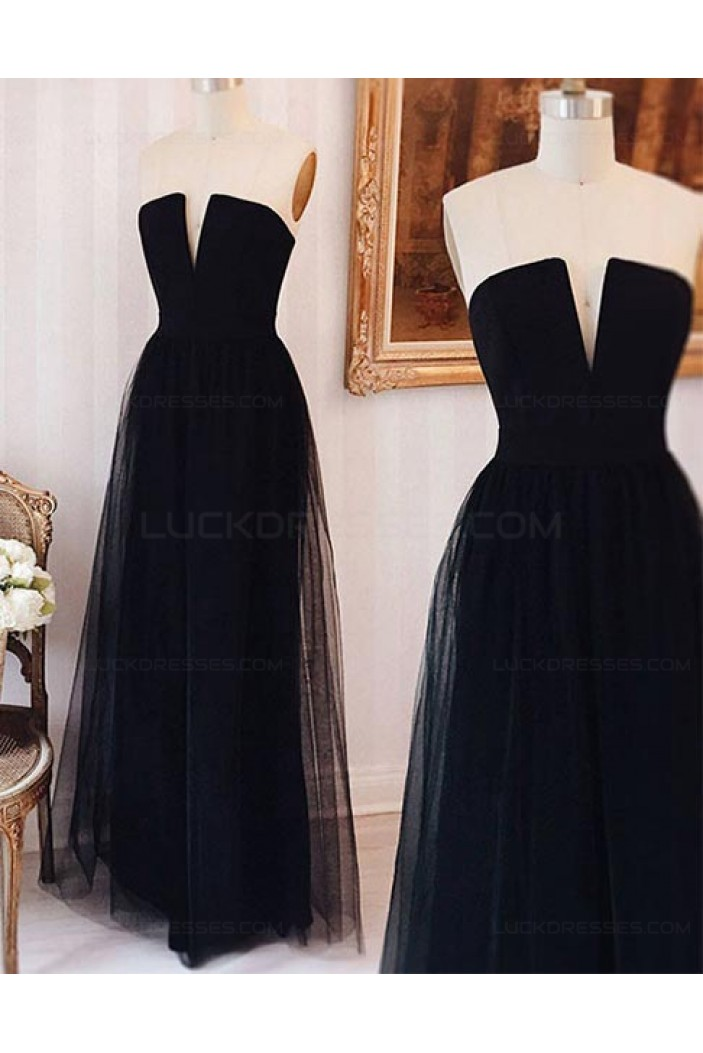 Long Tulle Prom Dresses Party Evening Gowns 3020414