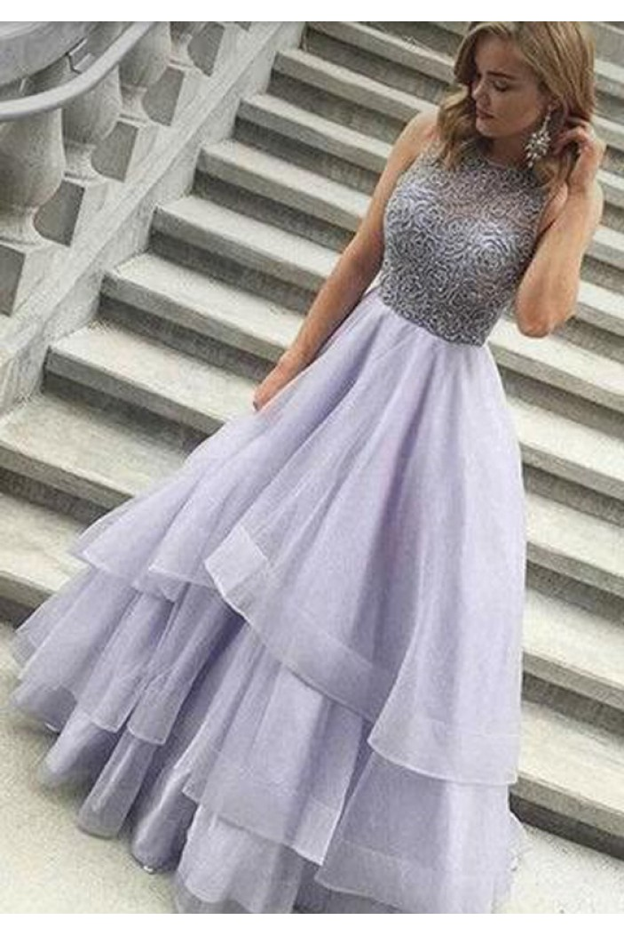 Ball Gown Long Prom Evening Dresses 3020606