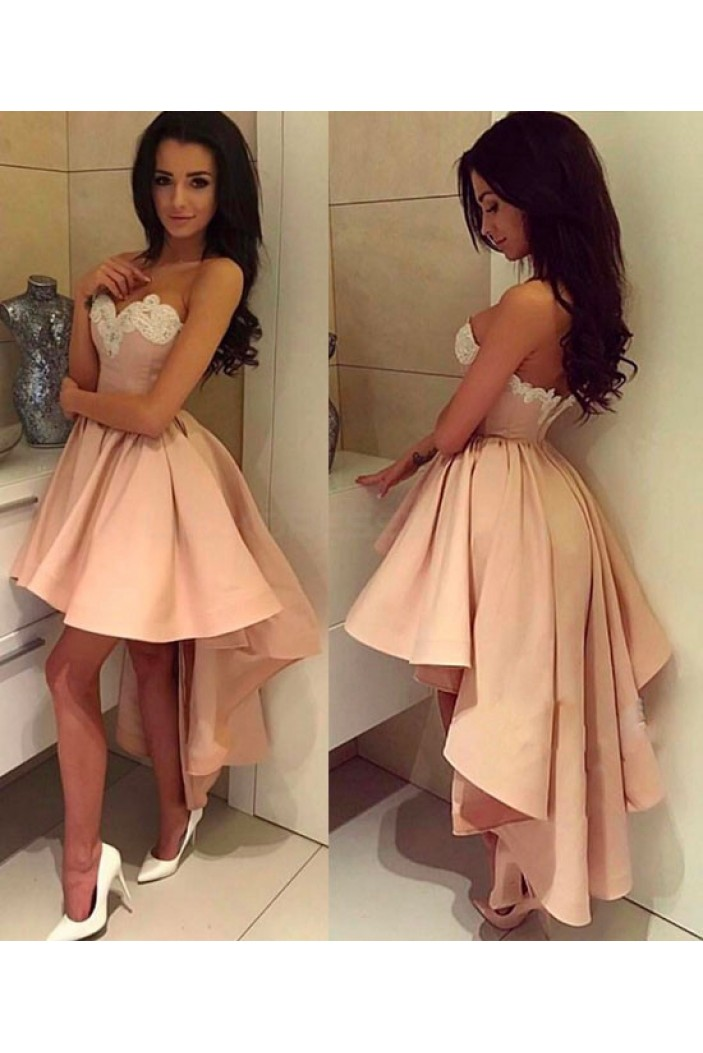High Low Sweetheart Short Prom Dresses Party Evening Gowns 3020739