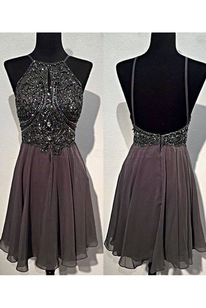 Short Beaded Prom Homecoming Graduation Dresses 3020767