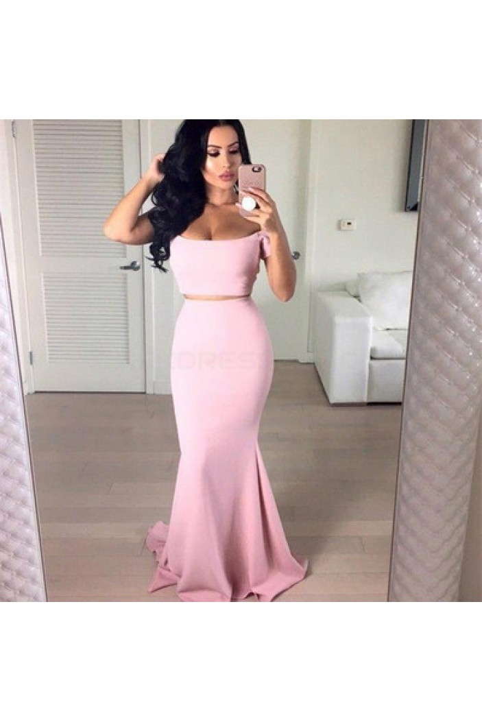Mermaid Two Pieces Prom Formal Evening Party Dresses 3020813