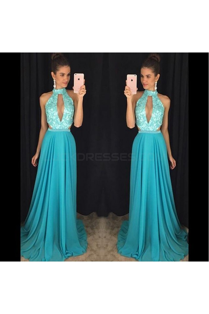 Long Blue Prom Formal Evening Party Dresses 3020819