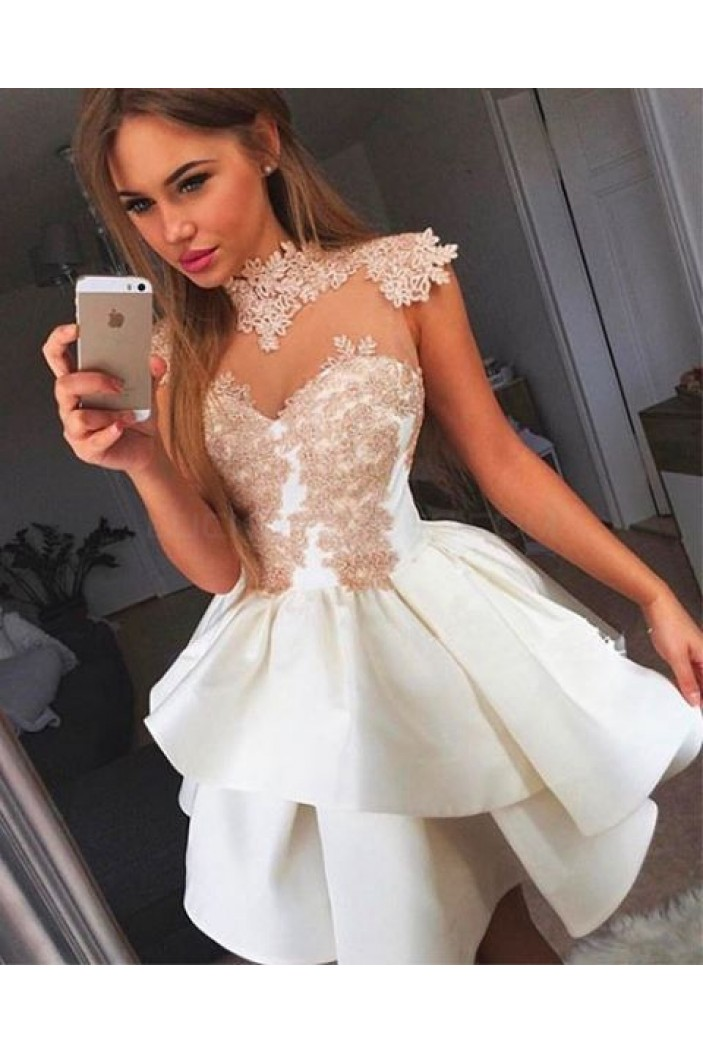 Short Lace Homecoming Cocktail Graduation Prom Dresses 3020870