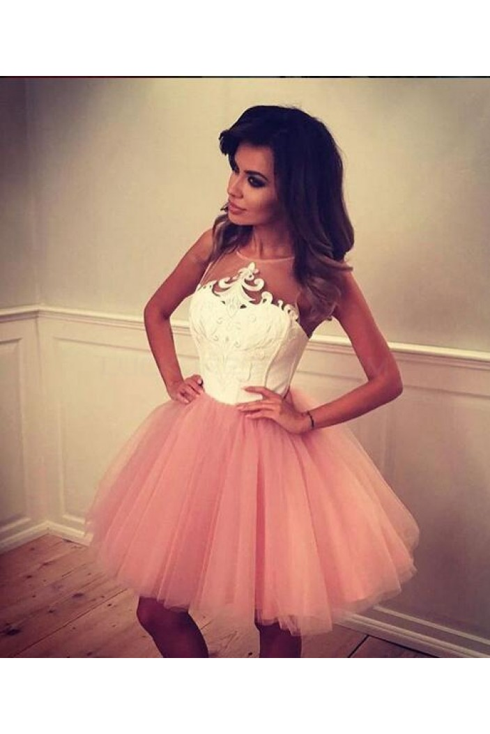 Short Lace Tulle Prom Homecoming Cocktail Graduation Dresses 3020873