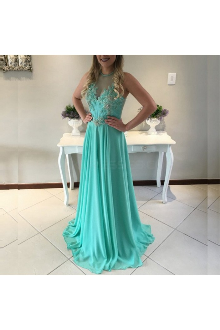 Long Chiffon Prom Formal Evening Party Dresses 3020936