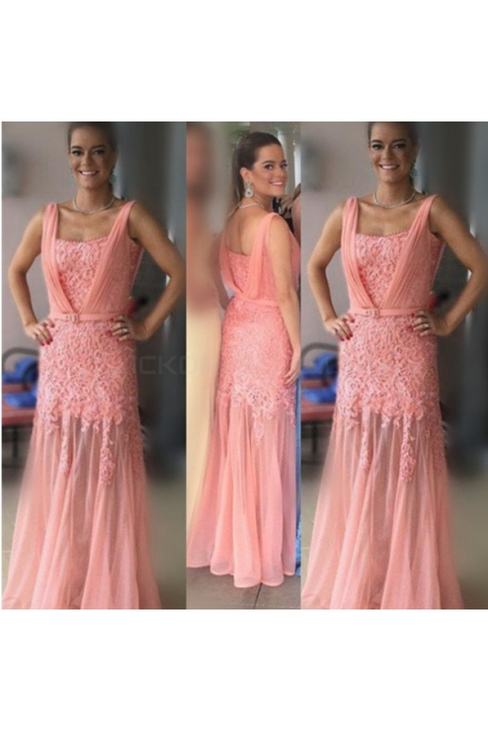 Lace Long Prom Formal Evening Party Dresses 3020945