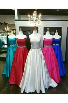 Beaded Ball Gown Long Prom Dresses Formal Evening Dresses 601034