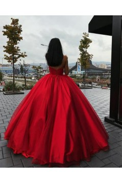 Ball Gown Sweetheart Long Prom Dresses Formal Evening Dresses 601052