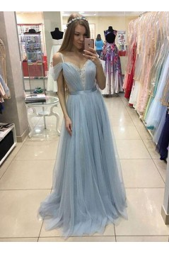 Lace and Tulle Long Prom Dresses Formal Evening Dresses 601101