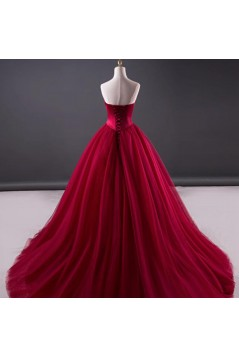 Ball Gown Sweetheart Long Prom Dresses Formal Evening Dresses 601103