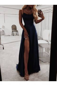 Simple Stunning Long Prom Dresses Formal Evening Dresses 601131
