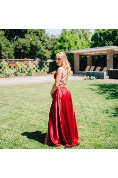 Simple Stunning Long Prom Dresses Formal Evening Dresses 601144