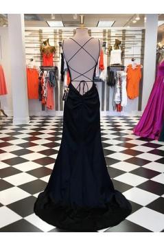 Simple Stunning Long Prom Dresses Formal Evening Dresses 601194