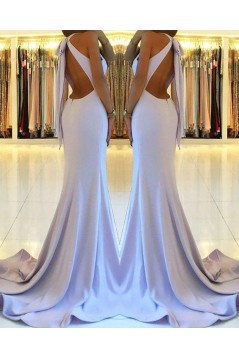 Elegant Mermaid Long Prom Dresses Formal Evening Dresses 601216