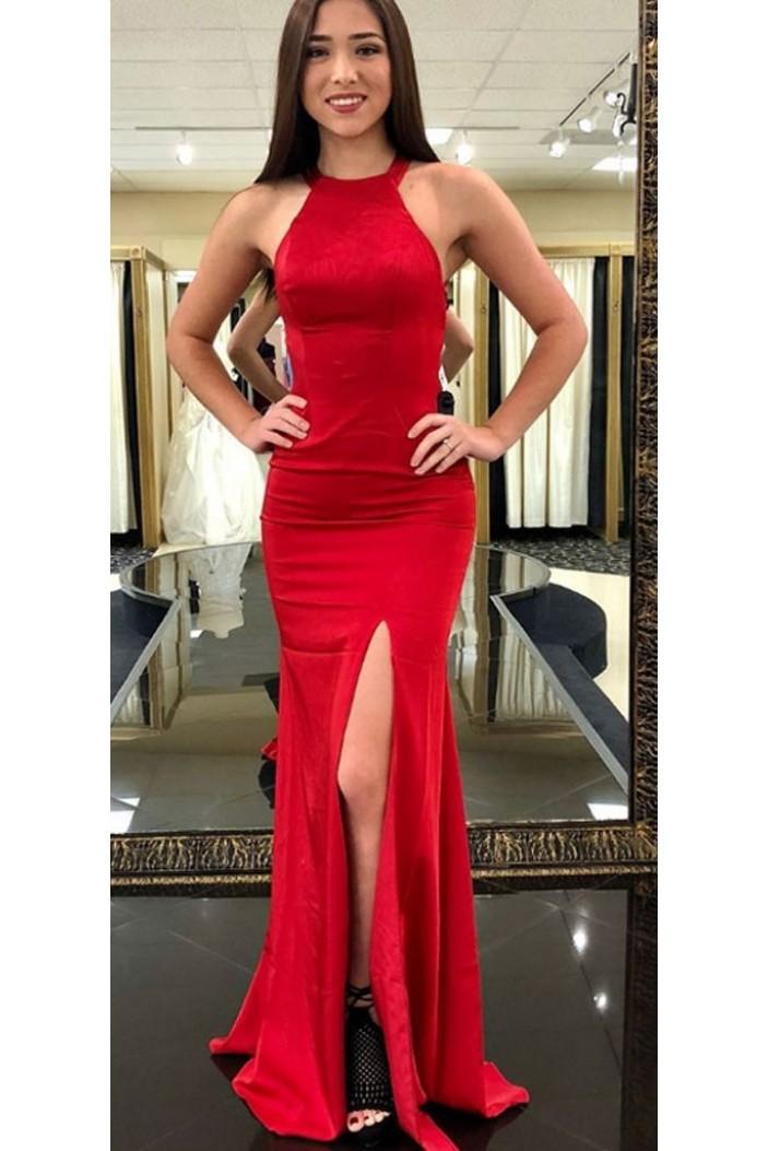 Mermaid Long Prom Dresses Formal Evening Dresses 601305