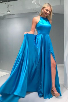 A-Line Long Prom Dresses Formal Evening Dresses 601332