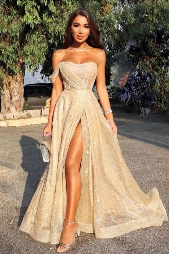 Elegant Long Prom Dress Formal Evening Dresses 601397