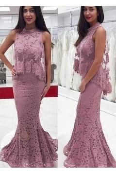 Mermaid Lace Long Prom Dress Formal Evening Dresses 601468