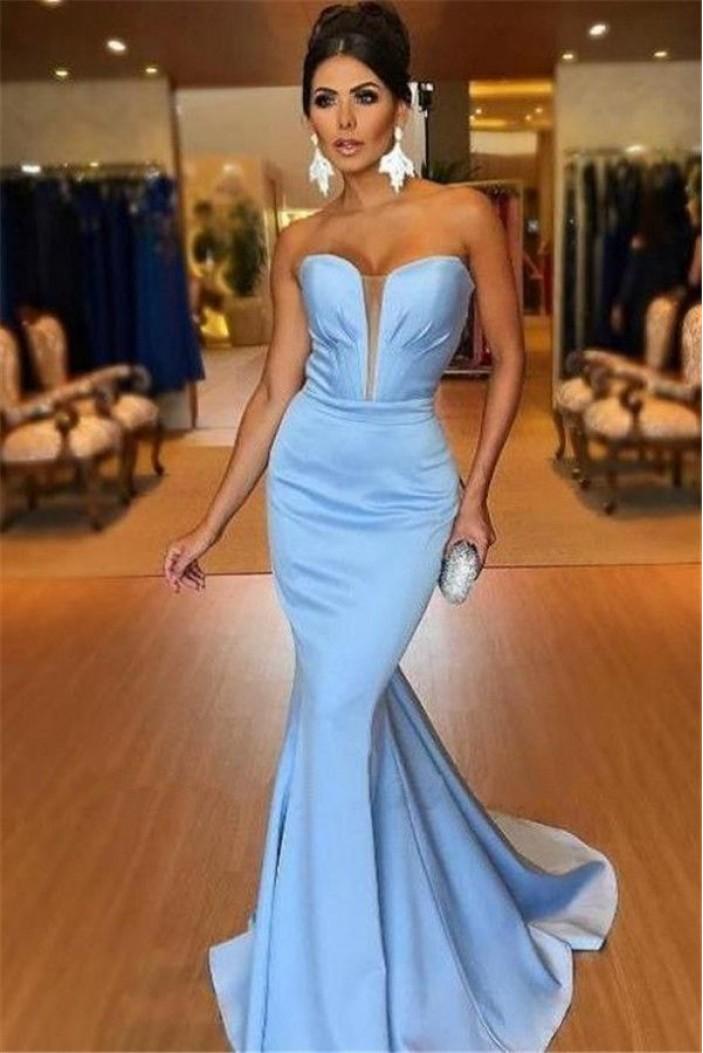 Mermaid Sweetheart Long Prom Dress Formal Evening Dresses 601473