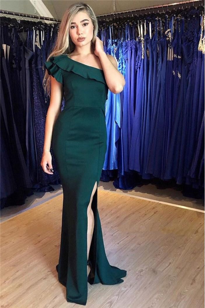 Mermaid Off-the-Shoulder Long Prom Dress Formal Evening Dresses 601479