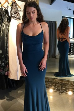 Mermaid Long Prom Dress Formal Evening Dresses 601525