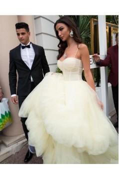 Stunning Tulle Long Prom Dress Formal Evening Dresses 601528