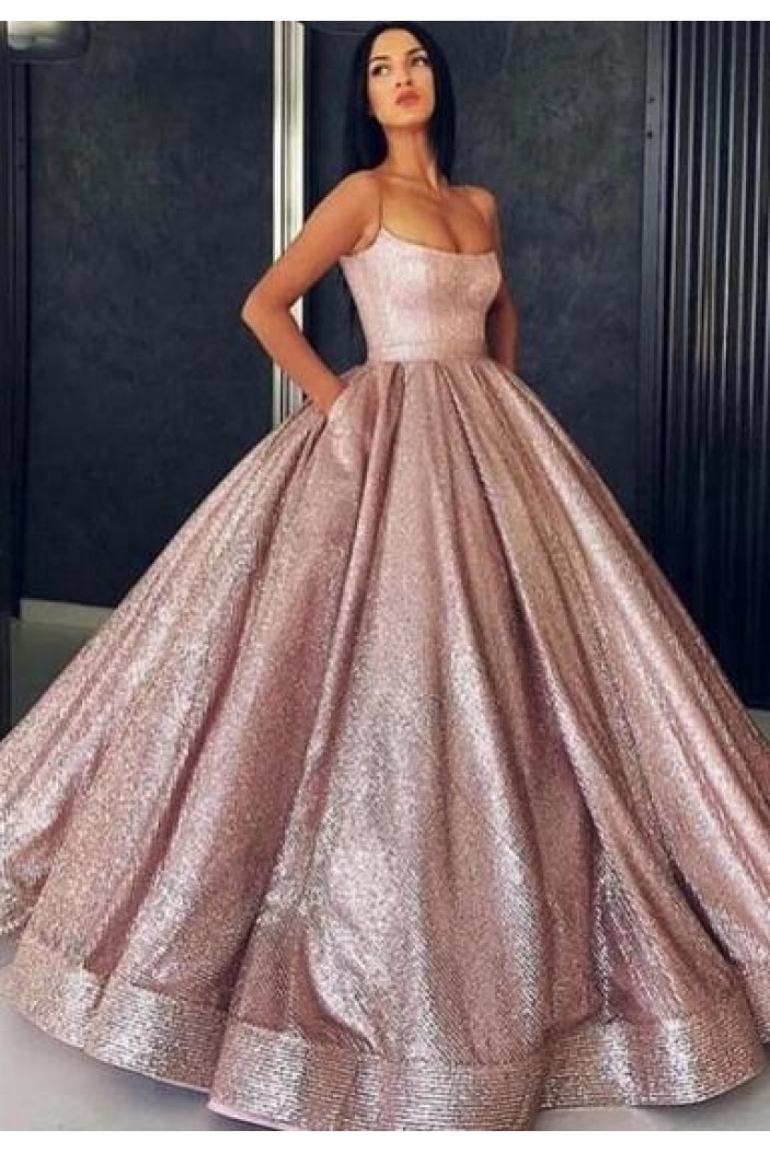 Ball Gown Sparkle Long Prom Dress Formal Evening Dresses 601552