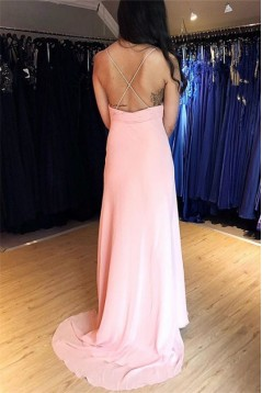 Sheath Lace Long Prom Dress Formal Evening Dresses 601611