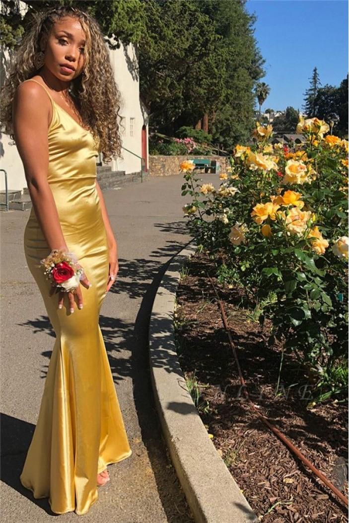 Mermaid V-Neck Long Prom Dress Formal Evening Dresses 601624