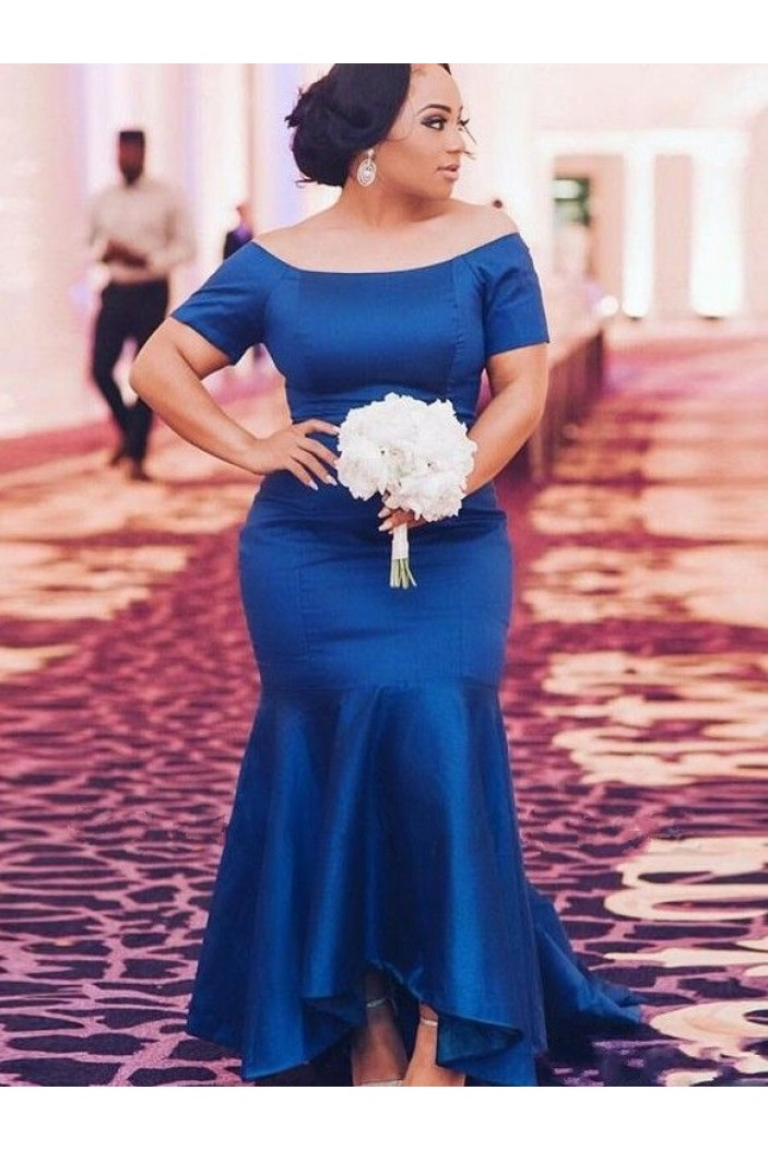 Mermaid Off-the-Shoulder Long Prom Dress Formal Evening Dresses 601645