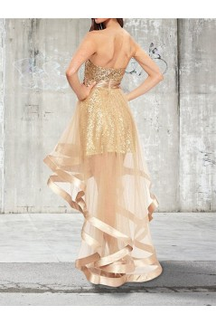 High Low Sweetheart Prom Dress Formal Evening Dresses 601661