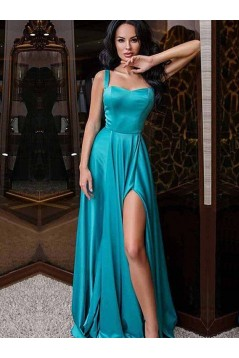 A-Line Long Prom Dress Formal Evening Dresses 601673