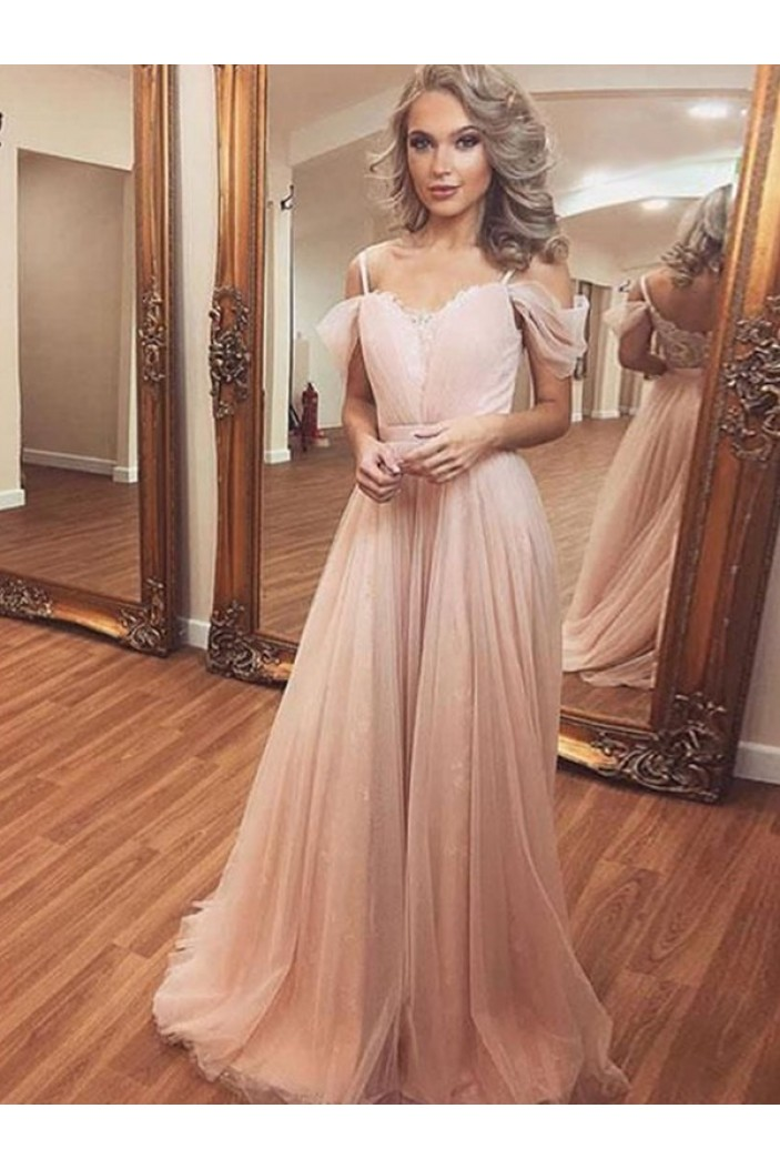 A-Line Long Prom Dress Formal Evening Dresses 601683