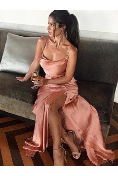Simple Sheath Long Prom Dress Formal Evening Dresses 601699