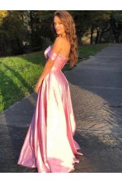 A-Line Off-the-Shoulder Long Prom Dress Formal Evening Dresses 601746